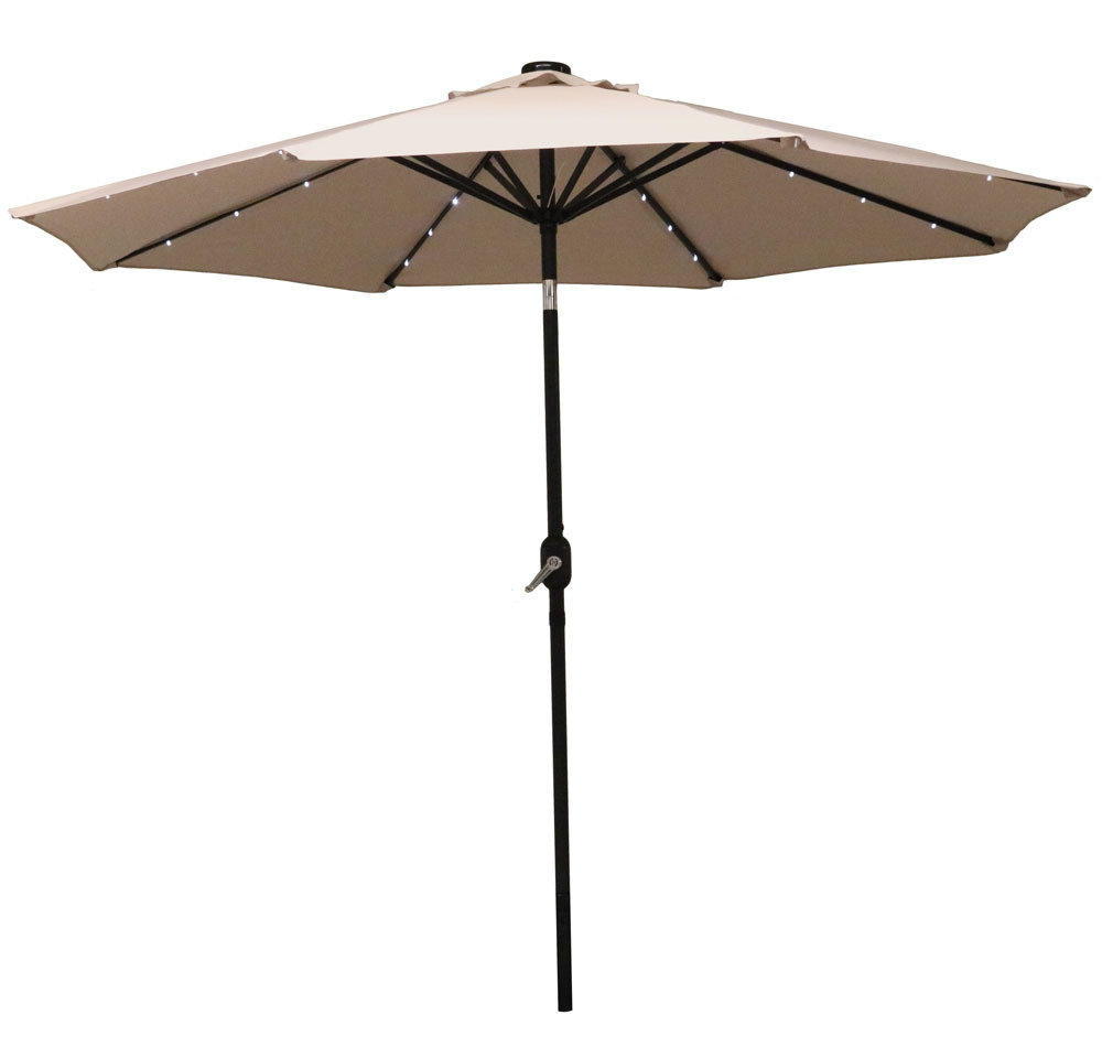Kelton Market Umbrellas With Popular Jericho 9' Market Umbrella (Gallery 16 of 20)