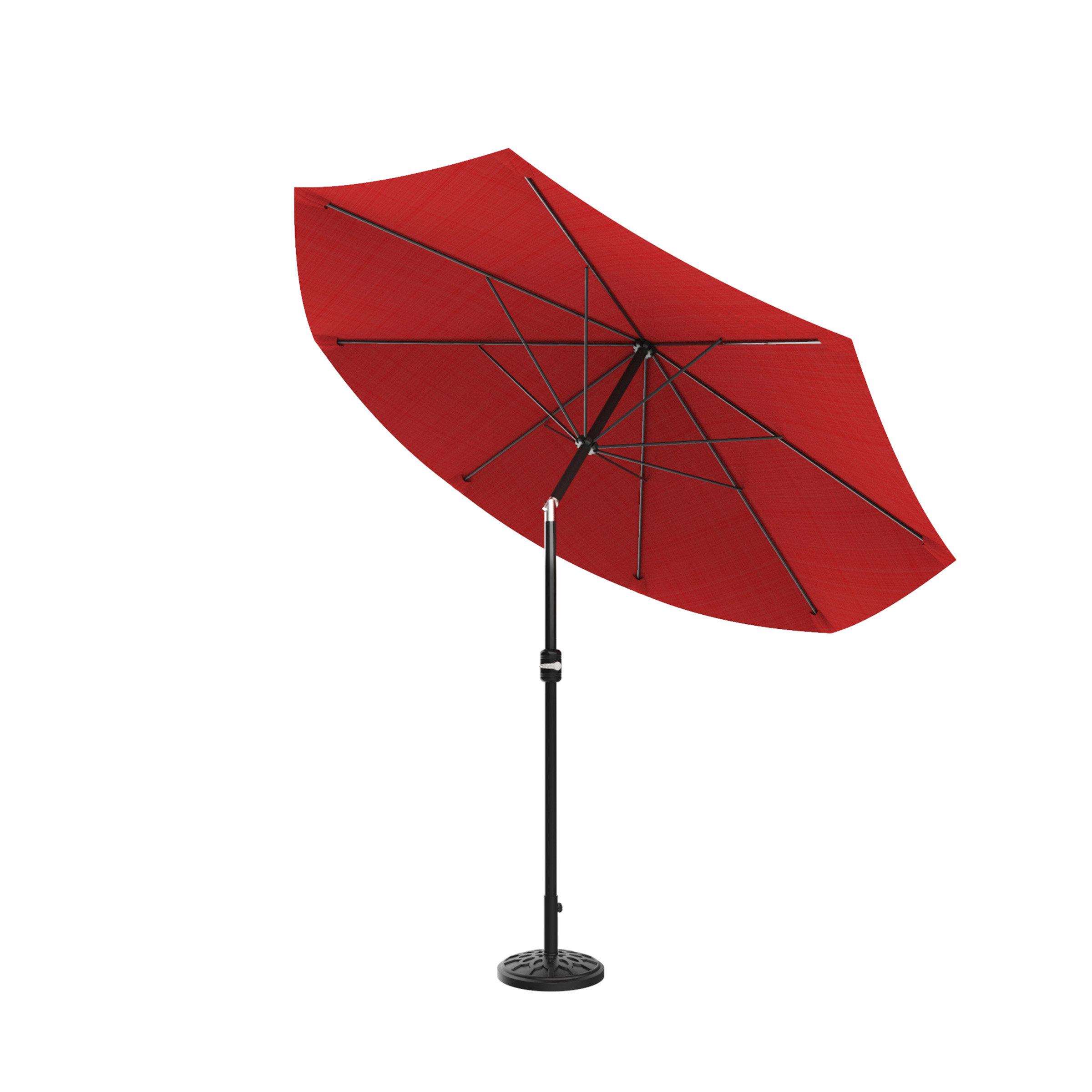 Kelton Market Umbrellas Within Popular Beachcrest Home Kelton 10' Market Umbrella (Gallery 5 of 20)