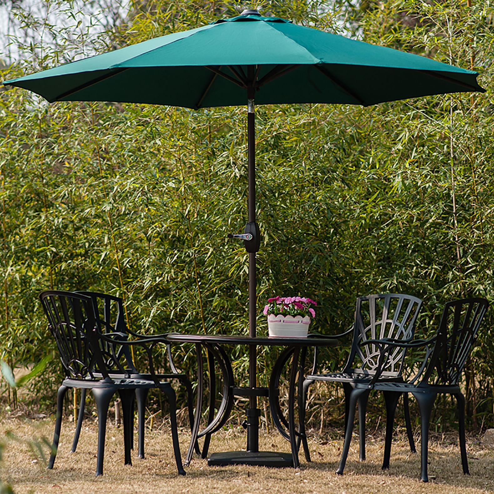 Kenn Market Umbrellas In Most Current Kenn 9' Market Umbrella (View 6 of 20)