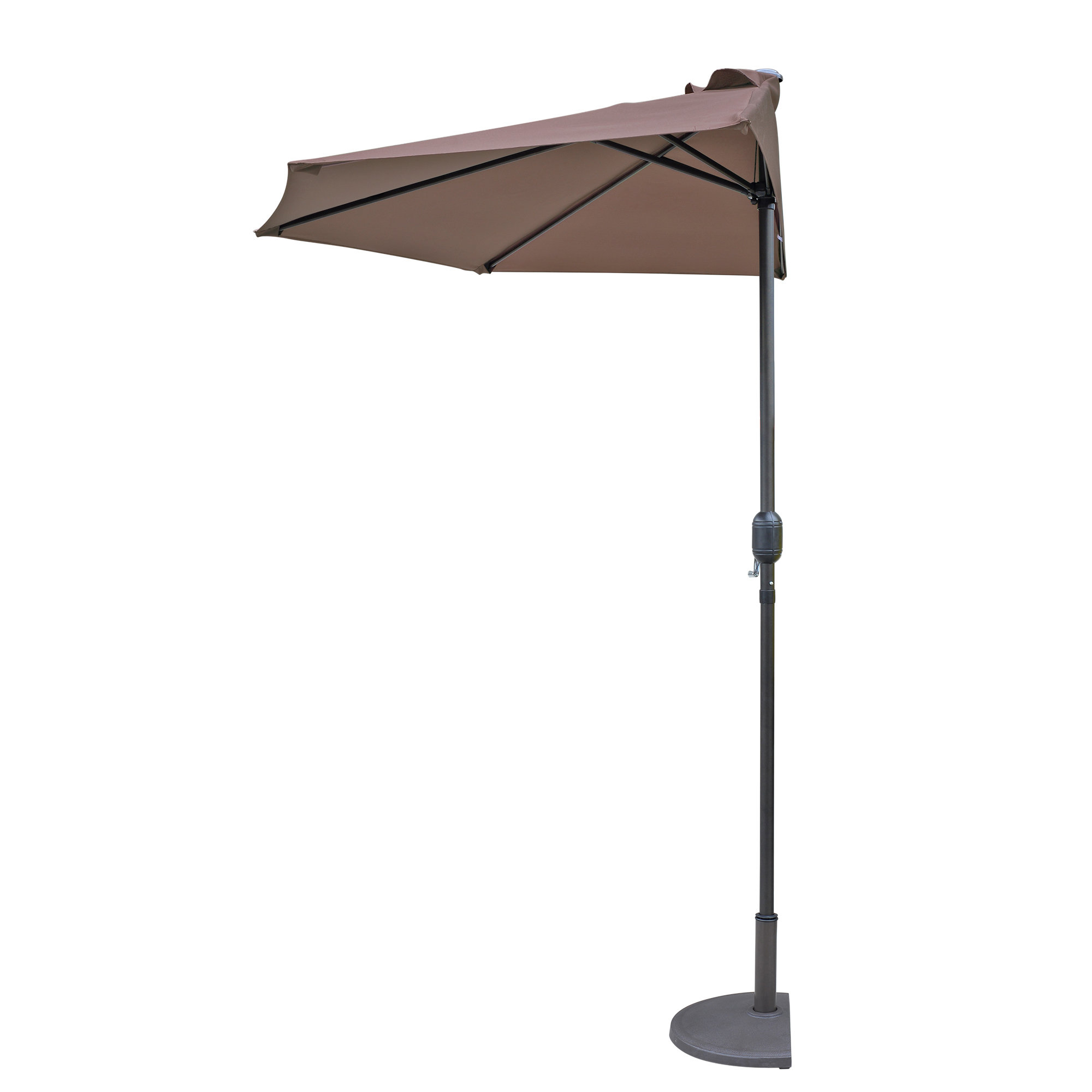 Lanai 8.75' Market Umbrella In Best And Newest Monty Half Market Umbrellas (Gallery 5 of 20)