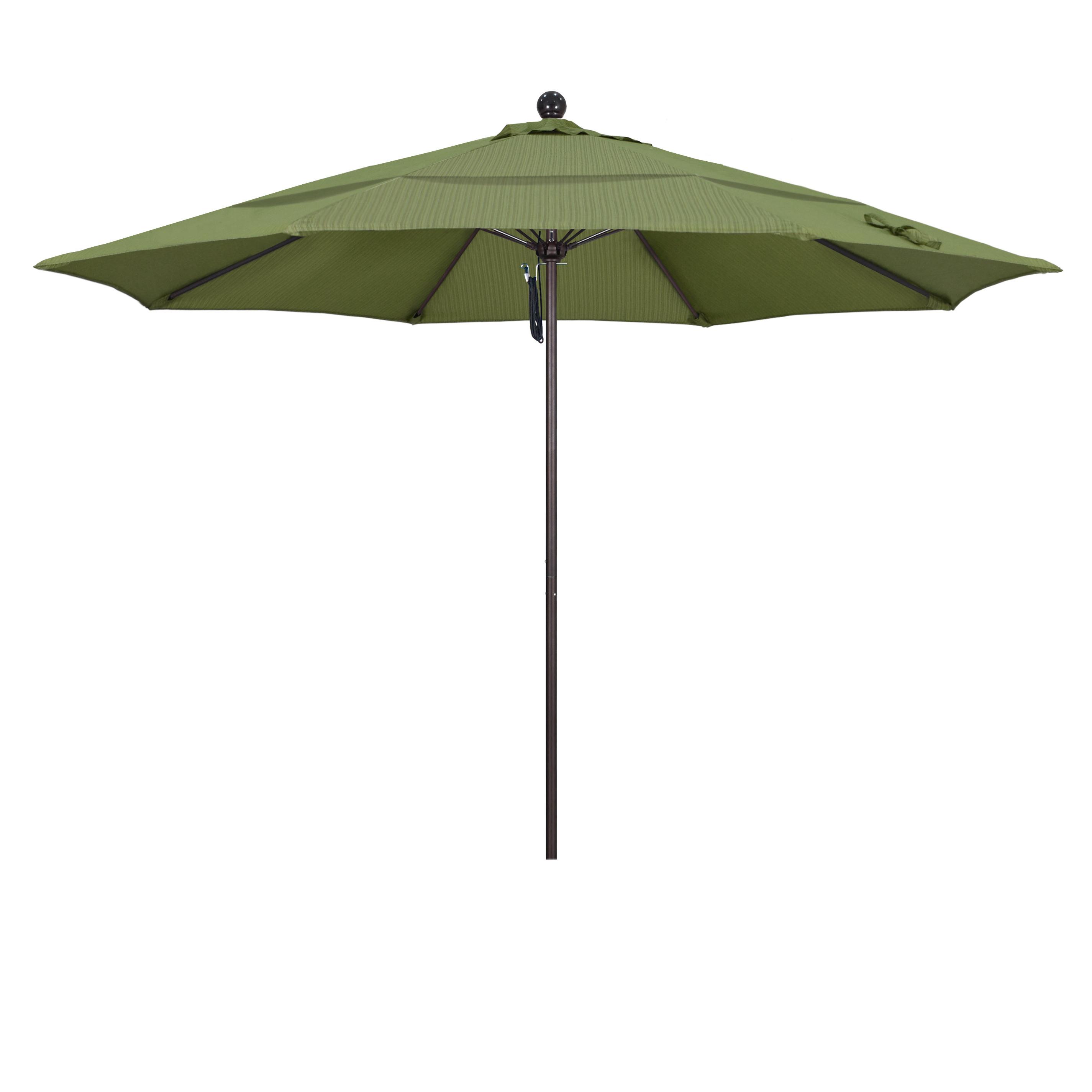 Latest Benson 11' Market Umbrella Pertaining To Caravelle Market Umbrellas (View 12 of 20)