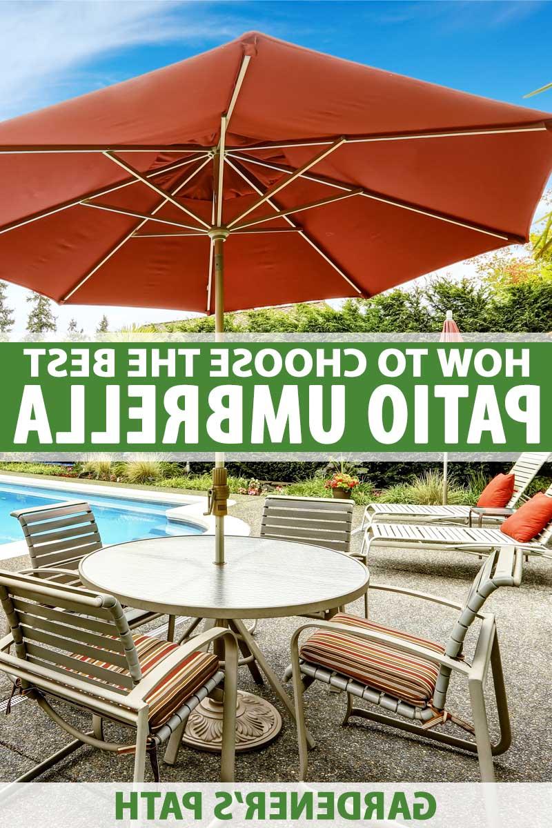 Latest Bradford Patio Market Umbrellas Inside The 7 Best Patio Umbrellas For Your Yard, Garden, Or Deck In  (View 13 of 20)