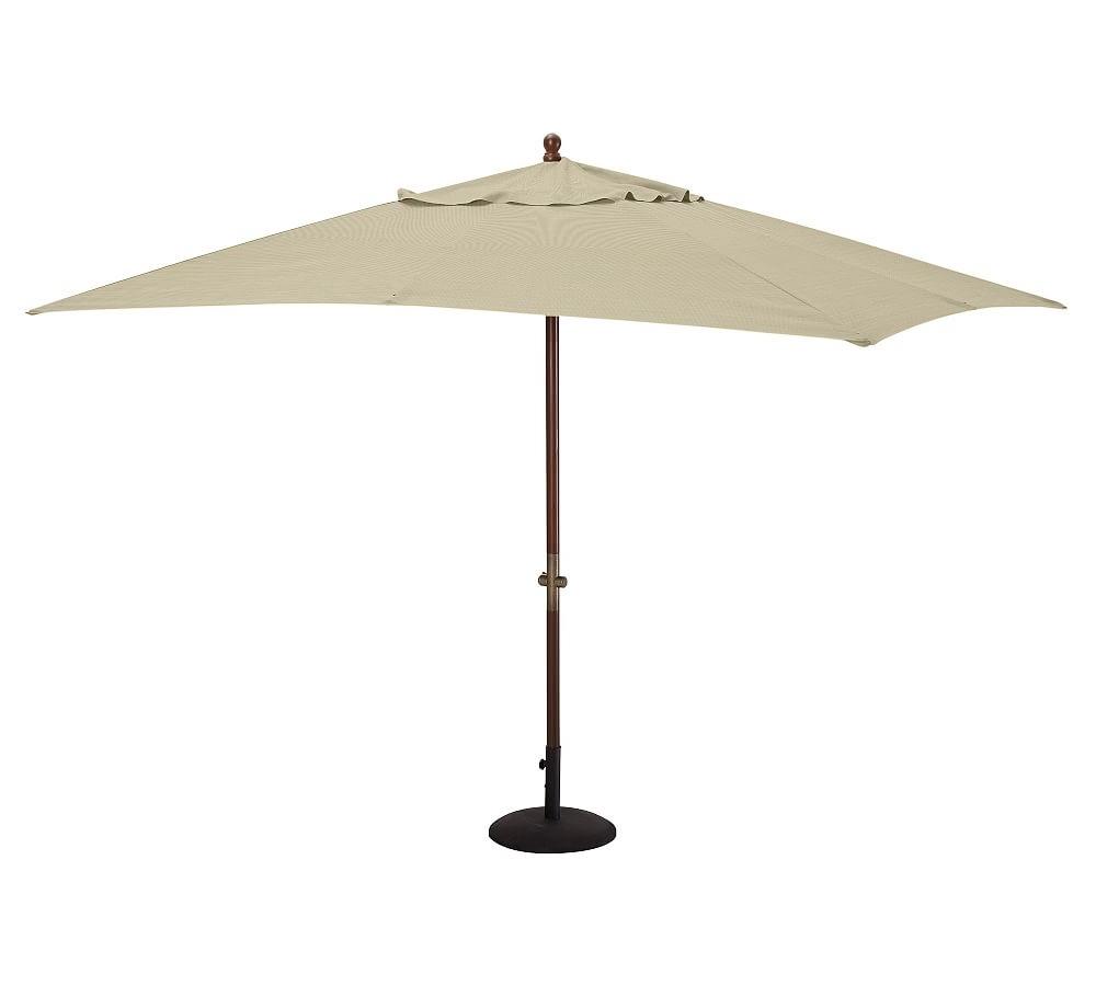 Latest Bradford Rectangular Market Umbrellas Throughout 9' Round Market Umbrella Canopy Replacement – Sunbrella(R) Newport (View 10 of 20)