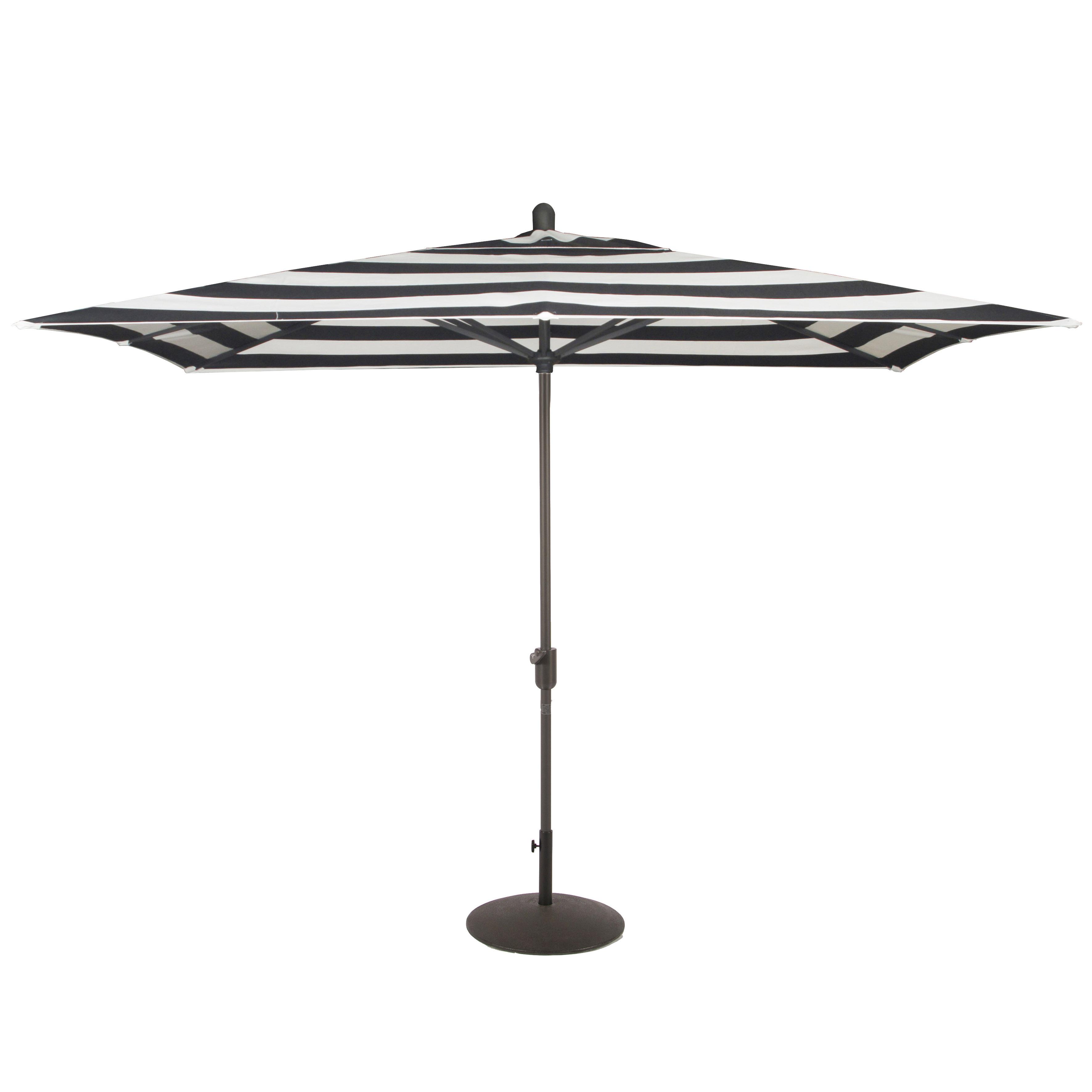 Latest Darwen Tiltable Patio Stripe Market Umbrellas With Wieczorek Auto Tilt 10' X 6.5' Rectangular Market Sunbrella Umbrella (Gallery 11 of 20)