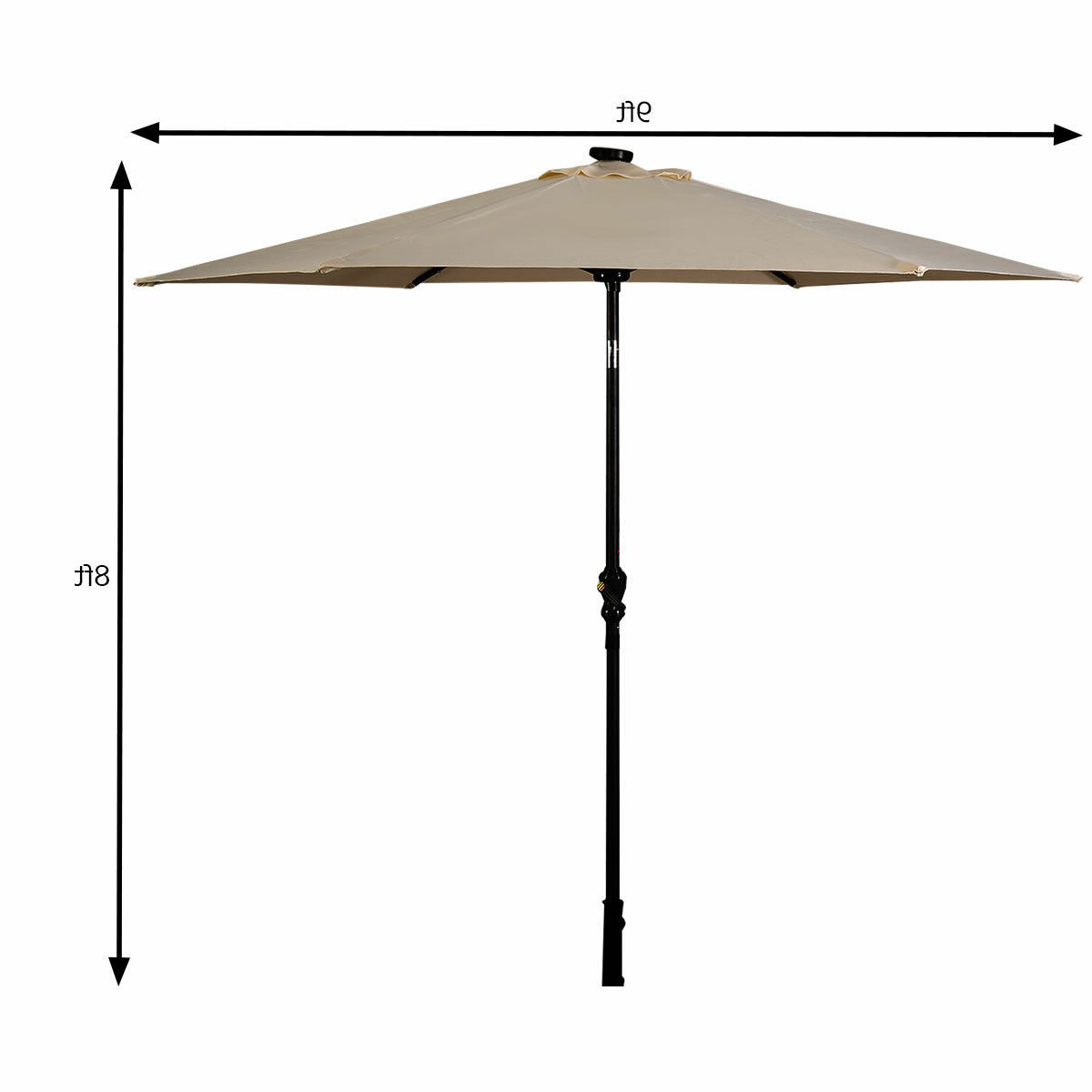 Latest Details About Freeport Park Exmouth 9' Market Umbrella Pertaining To Leachville Market Umbrellas (View 1 of 20)