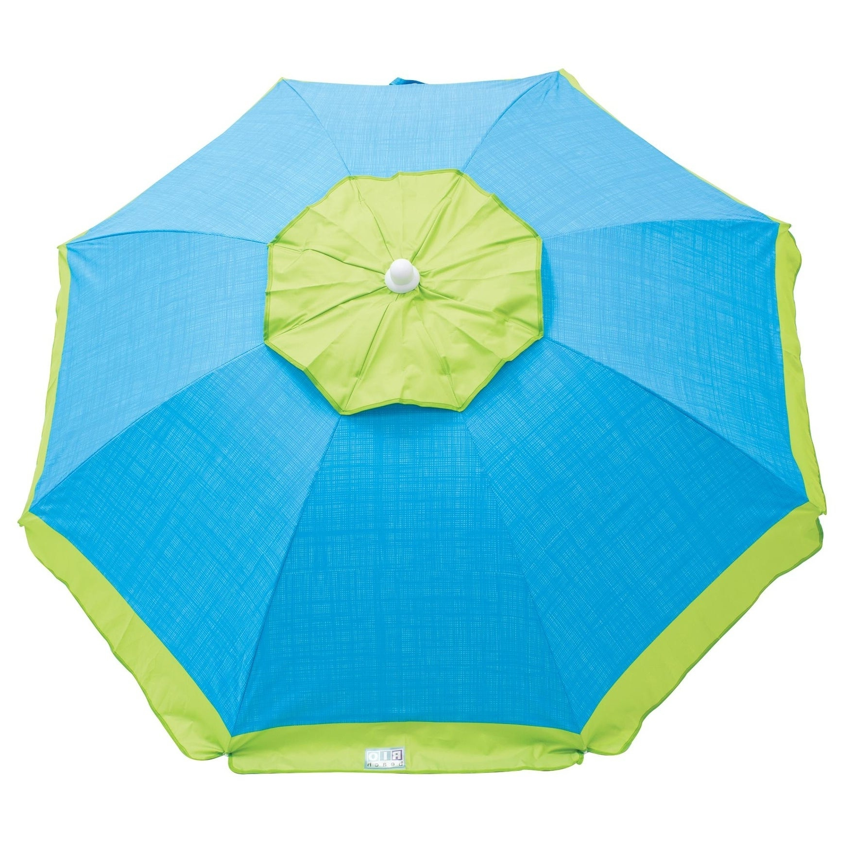 Latest Rio Beach 6 Ft. Tilt Beach Umbrella With Wind Vent For Margaritaville Green And Blue Striped Beach With Built In Sand Anchor Umbrellas (Gallery 6 of 20)