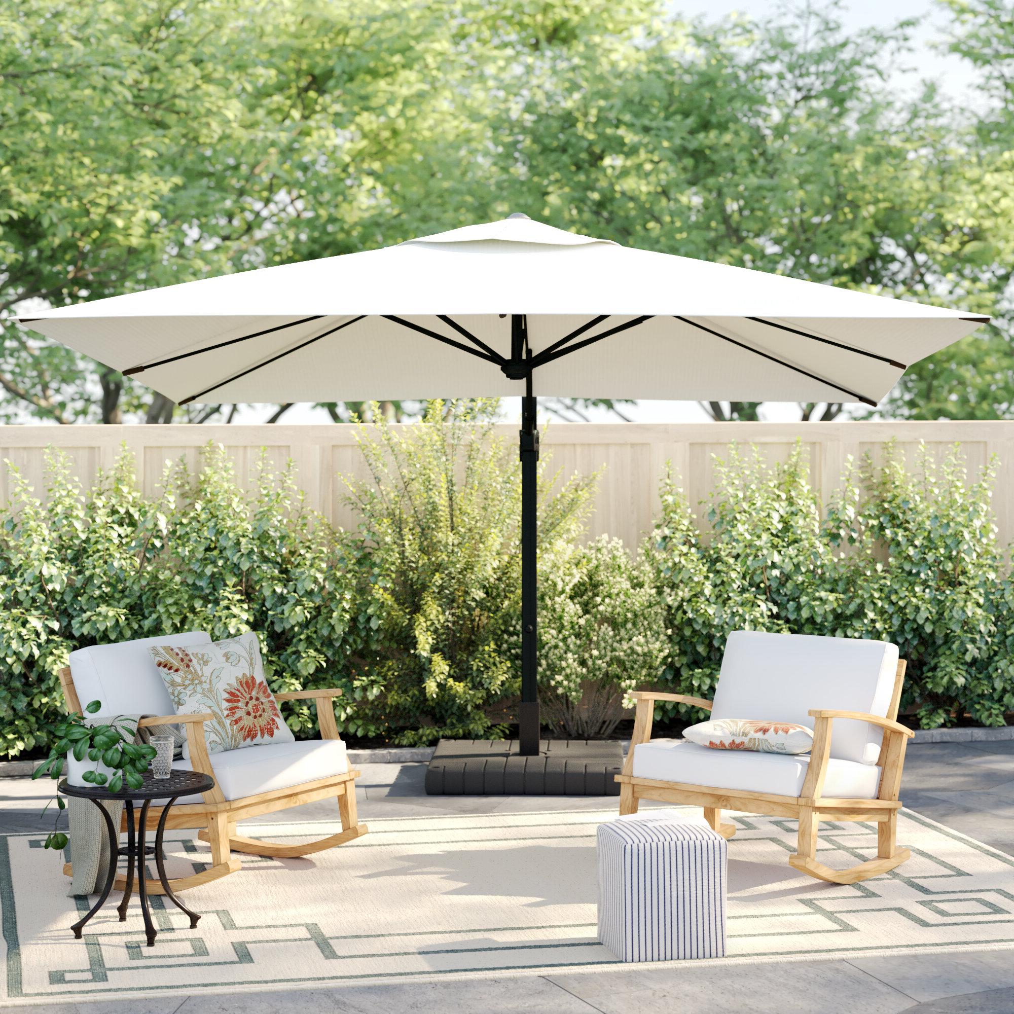 Latest Sol 72 Outdoor Carlisle 10' Square Cantilever Sunbrella Umbrella For Krystal Square Cantilever Sunbrella Umbrellas (View 6 of 20)