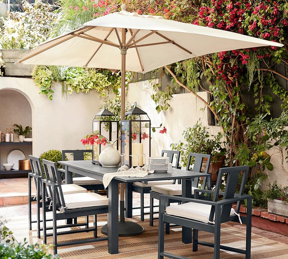 Latest Solid Rectangular Market Umbrellas Throughout Rectangular Market Umbrella (View 5 of 20)