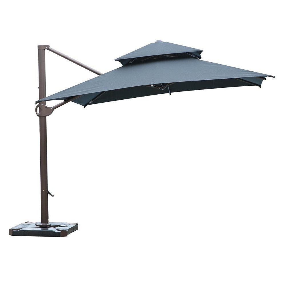 Latest Sorara 1010 Ft Square Offset Cantilever Umbrella Patio Hanging In Imogen Hanging Offset Cantilever Umbrellas (View 3 of 20)