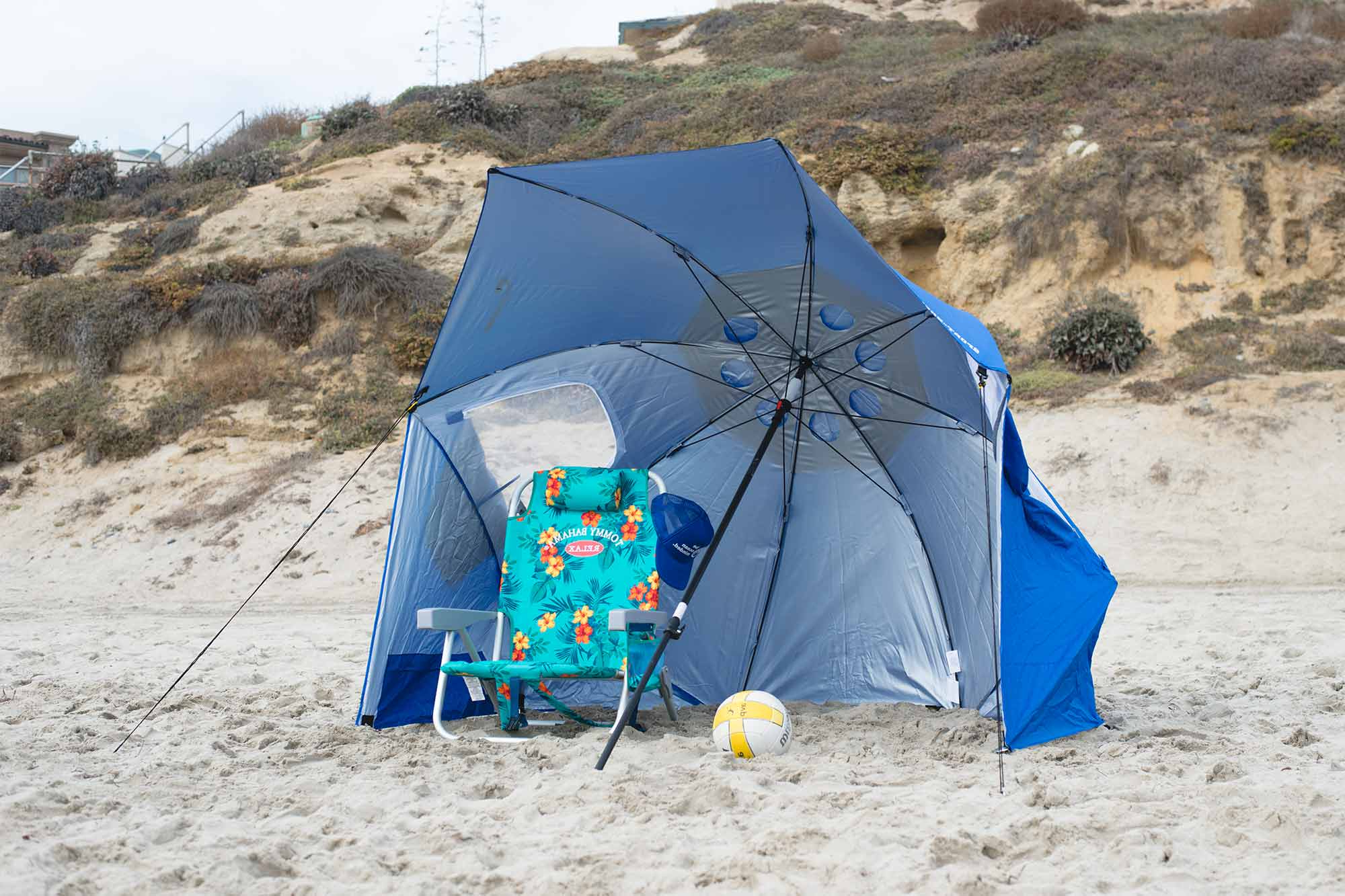 Latest The Best Beach Umbrellas, Chairs & Tents Of 2019 – Your Best Digs Within Sun Shelter Beach Umbrellas (View 4 of 20)