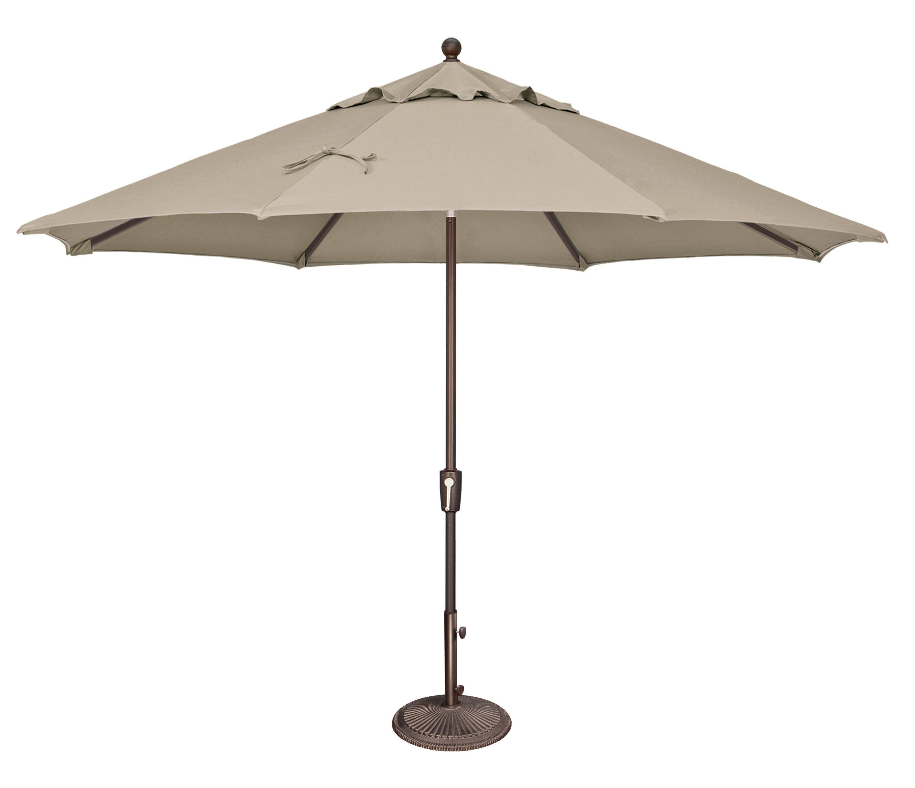 Launceston 11' Market Umbrella With Well Known Isom Market Umbrellas (View 13 of 20)