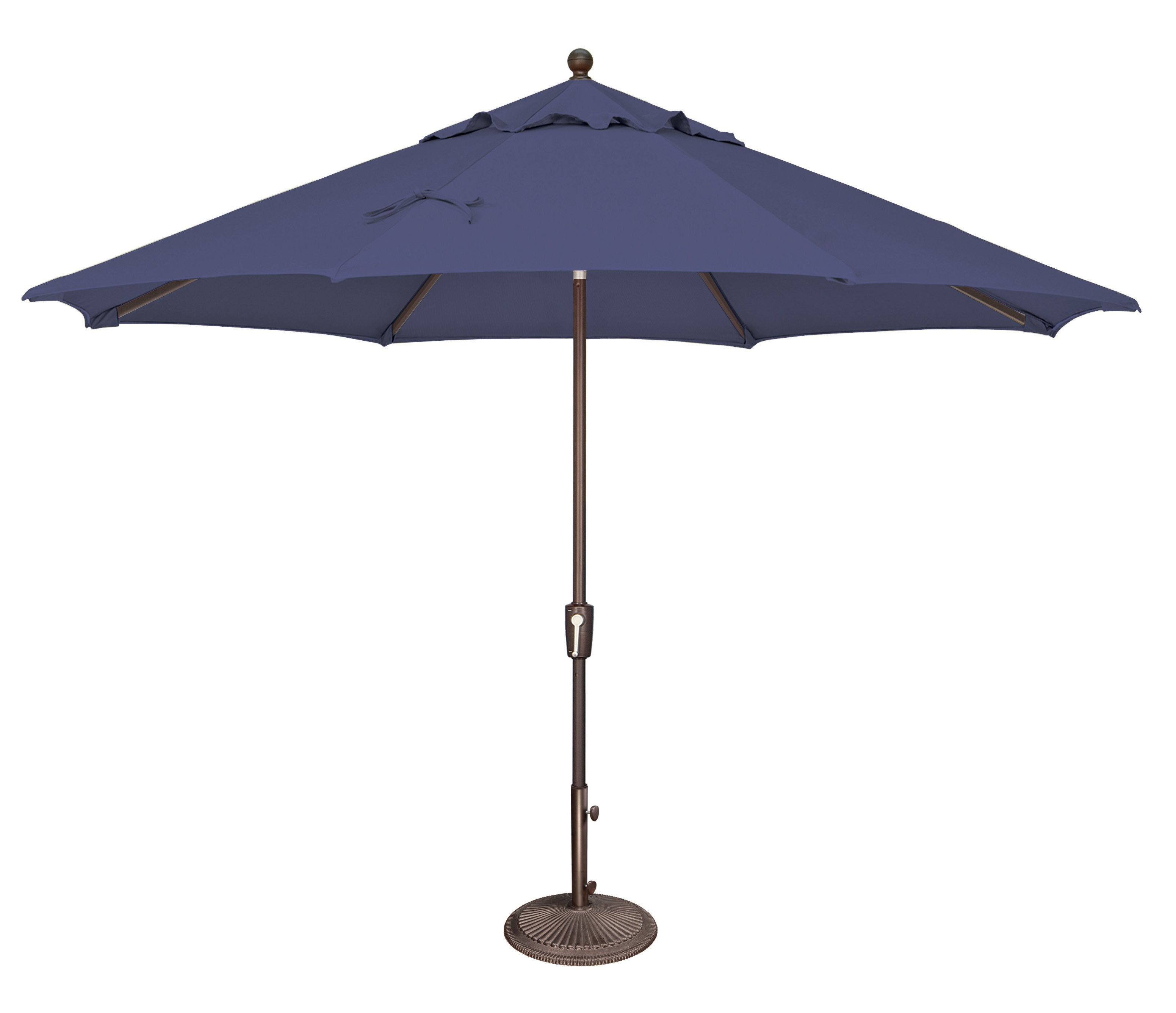 Launceston 11' Market Umbrella With Well Known Wallach Market Sunbrella Umbrellas (View 16 of 20)