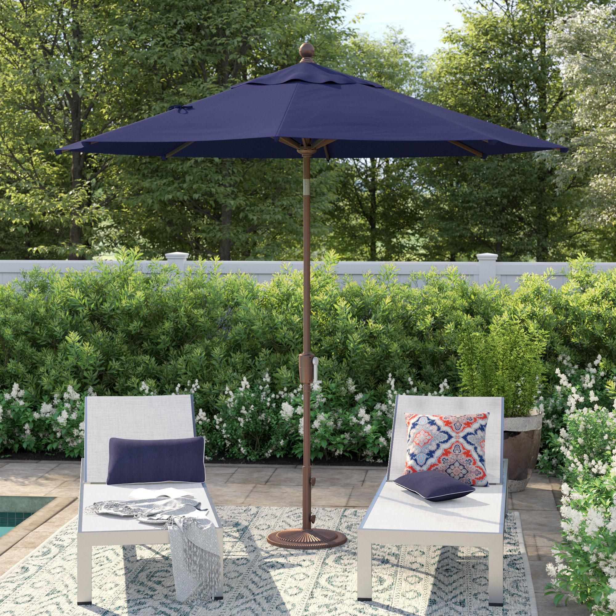 Launceston 9' Market Umbrella Inside Fashionable Winchester Zipcode Design Market Umbrellas (View 11 of 20)