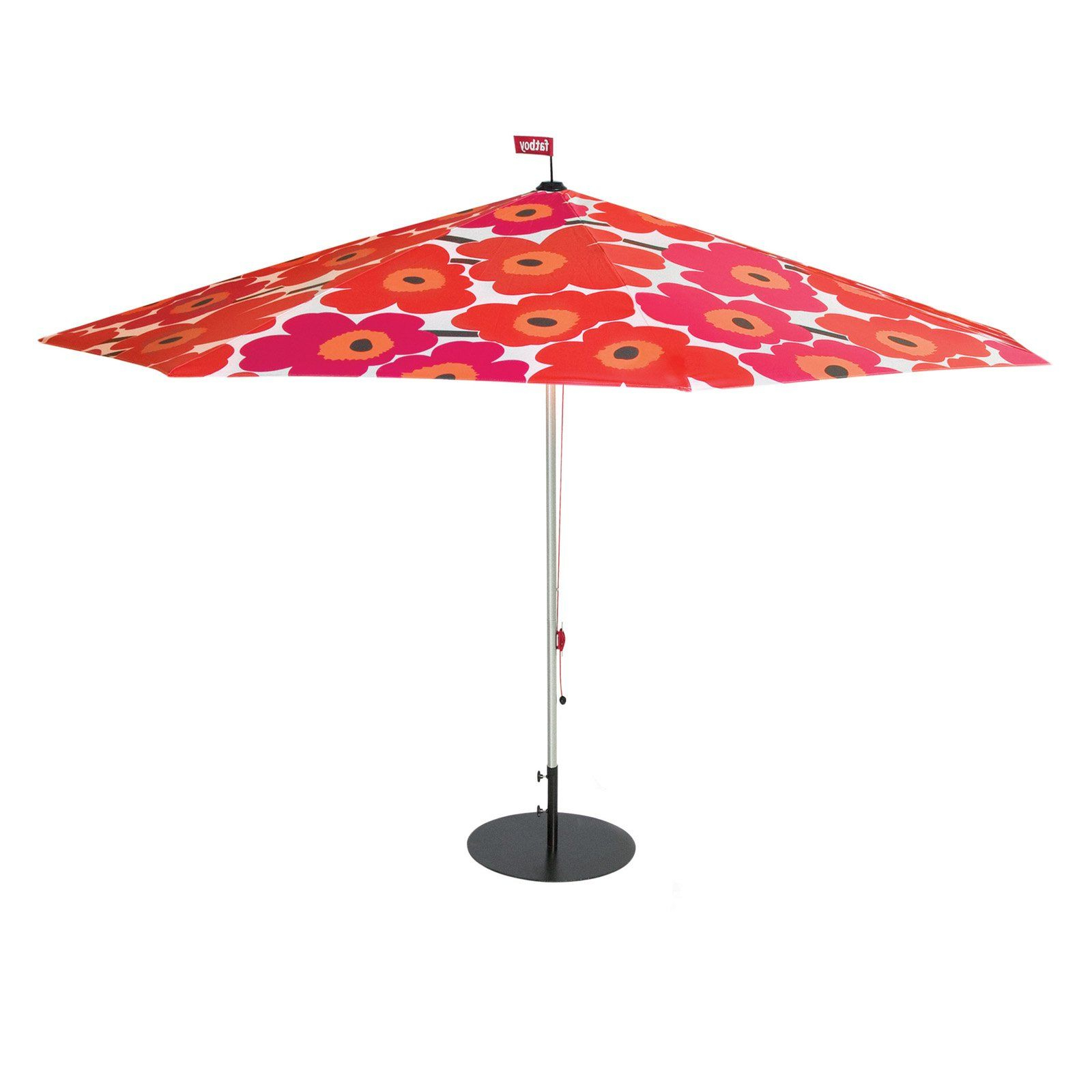 Lizarraga Market Umbrellas Inside Fashionable Fatboy Marimekko Parasol. (View 11 of 20)