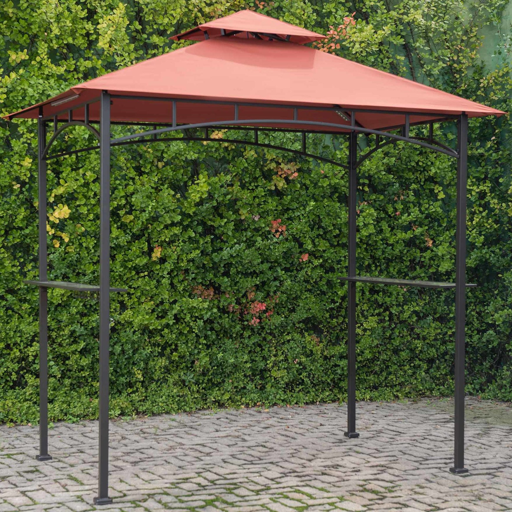 Lora Market Umbrellas Throughout Well Known 8 Ft. W X 5 Ft (View 10 of 20)