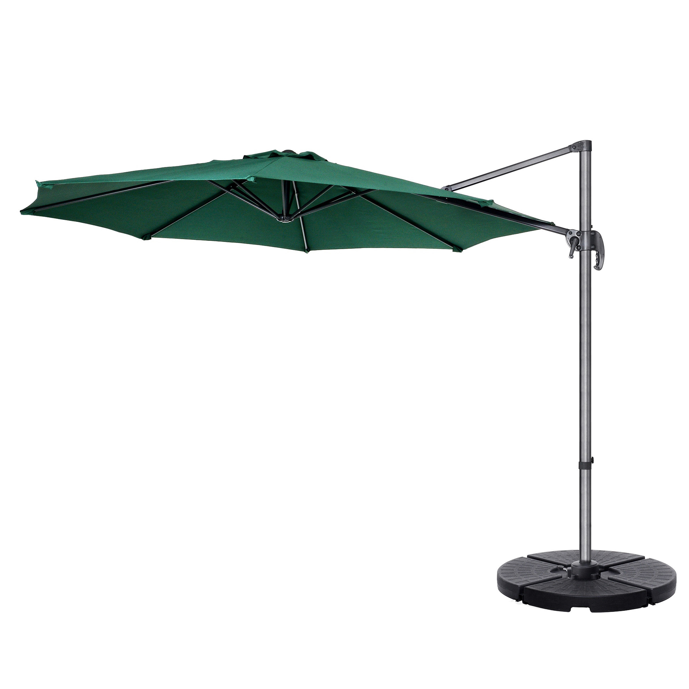 Lytham Cantilever Umbrellas With Famous Freeport Park Cockermouth Rotating 10' Cantilever Umbrella (View 13 of 20)