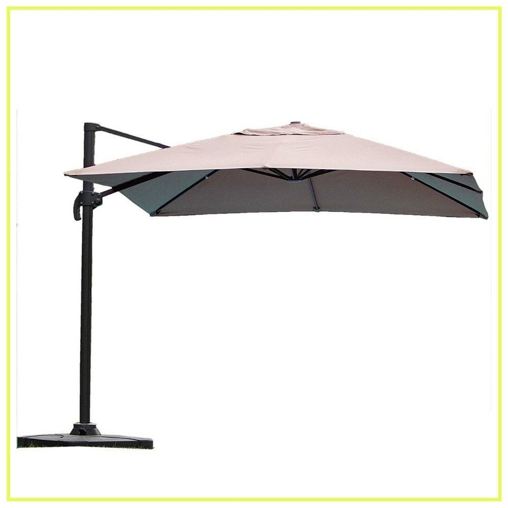Maidenhead Cantilever Umbrellas Inside Popular 10 Best Cantilever Umbrellas In 2019: A Complete Guide And Reviews (View 19 of 20)