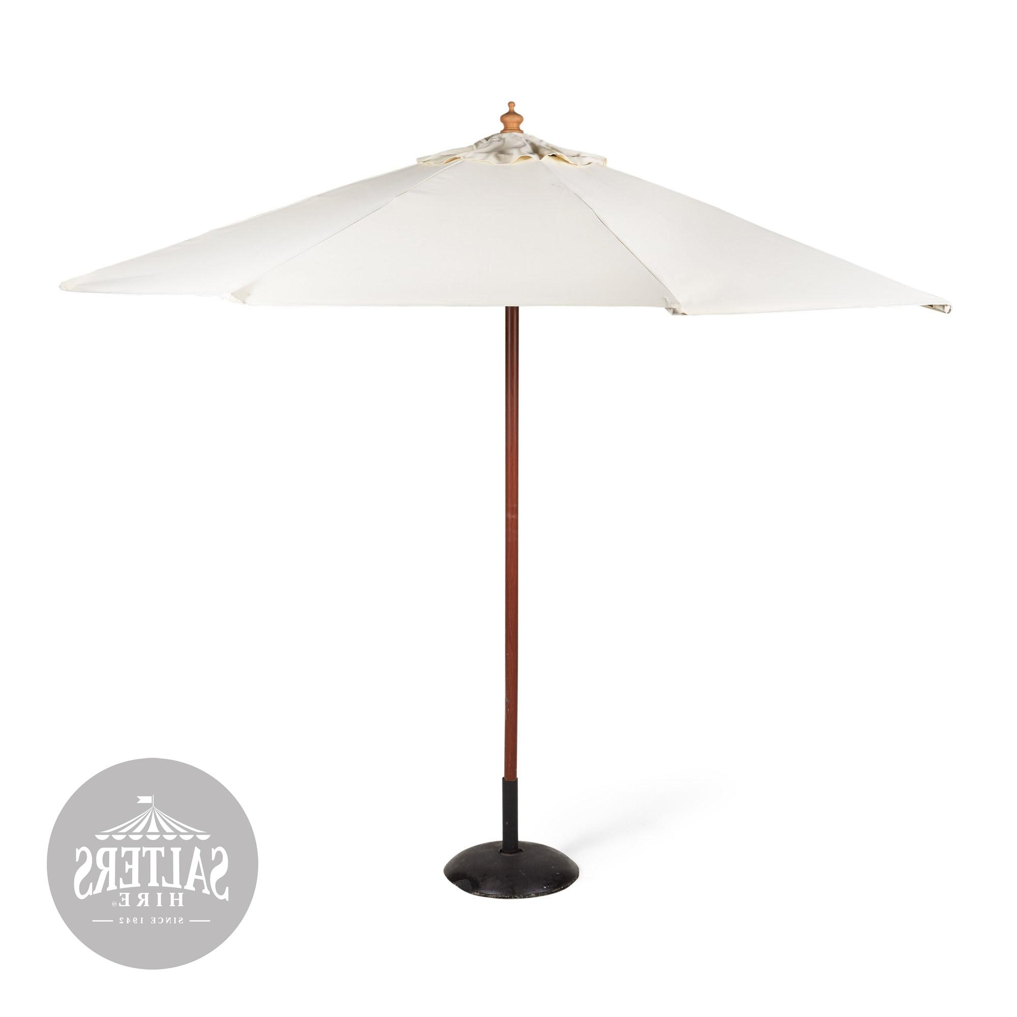 Market Umbrellas With Regard To Preferred Market Umbrella – 3M No Stand (Gallery 5 of 20)
