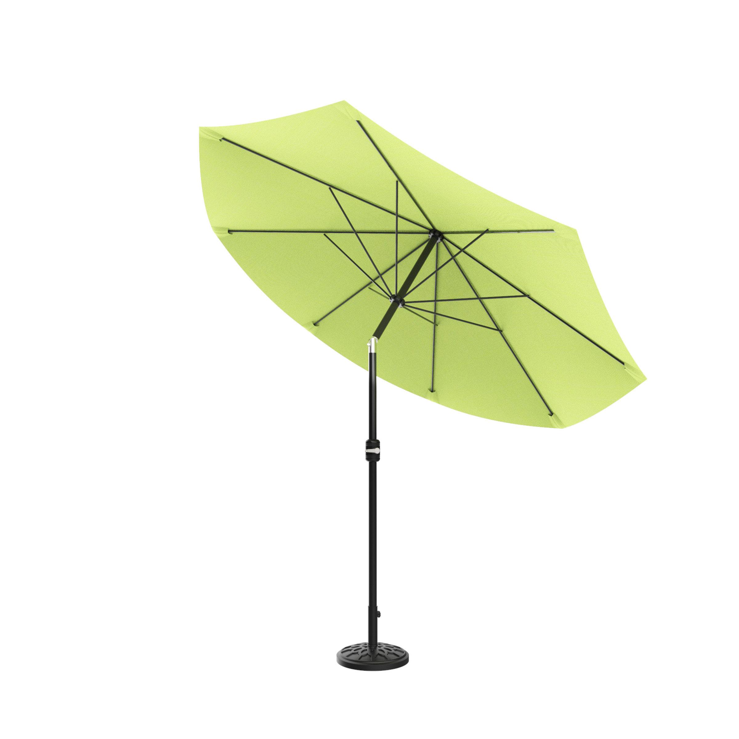 Monty Market Umbrellas In Latest Beachcrest Home Kelton 10' Market Umbrella (Gallery 7 of 20)