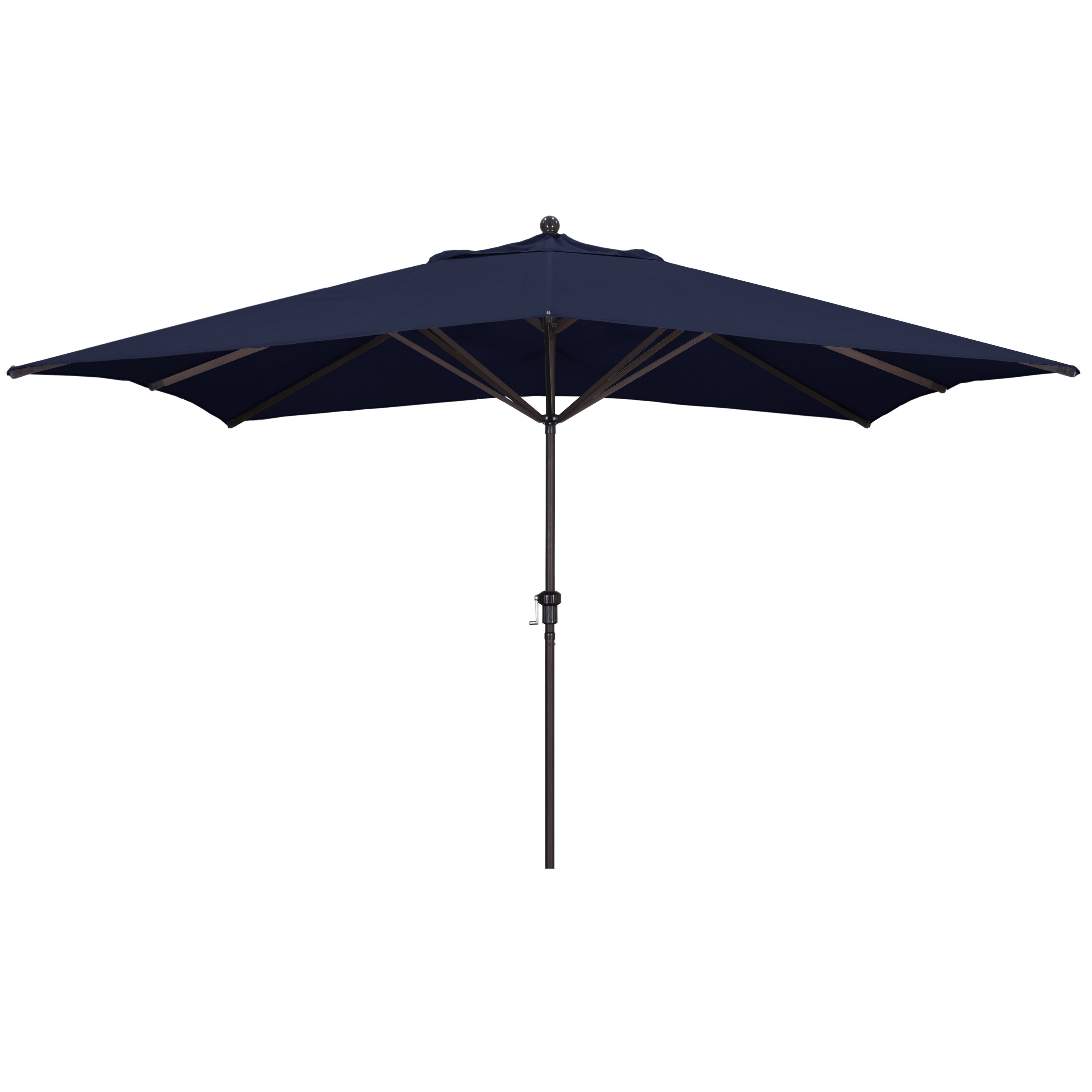 Most Current Carlton 11' X 8' Rectangular Market Umbrella Within Launceston Market Umbrellas (View 10 of 20)