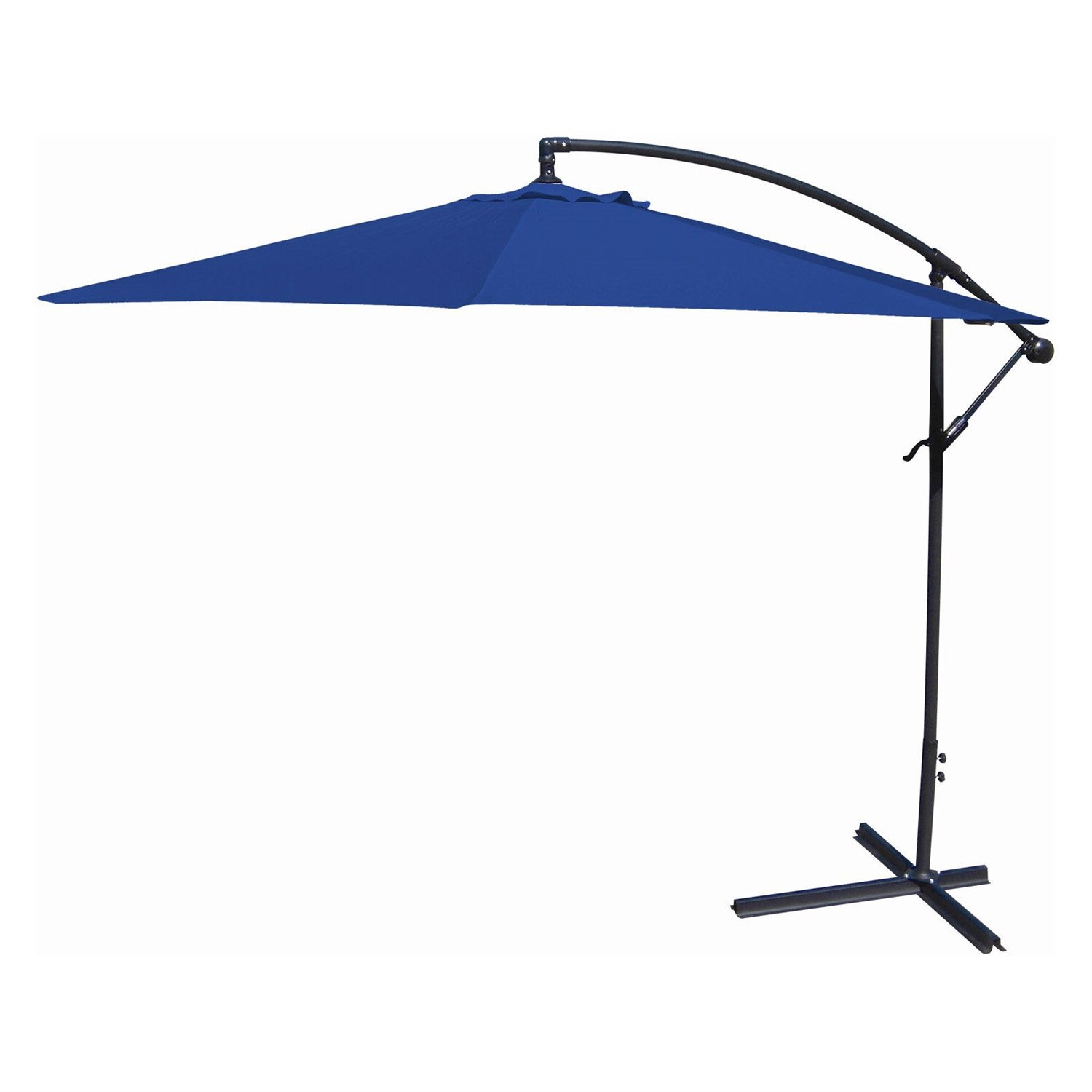 Most Current Charlton Home Kitchen 10' Cantilever Umbrella With Judah Cantilever Umbrellas (Gallery 13 of 20)