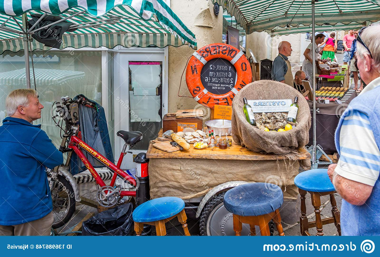 Most Current Frome Market Umbrellas Inside Street Stall Selling Oysters At Frome Sunday Market In Frome (View 12 of 20)