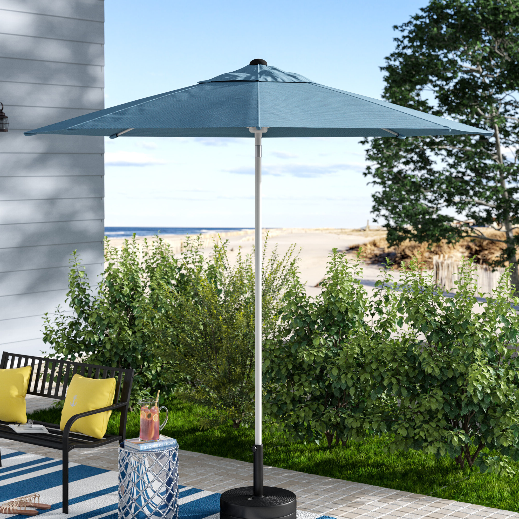 Featured Photo of Wiebe Market Sunbrella Umbrellas