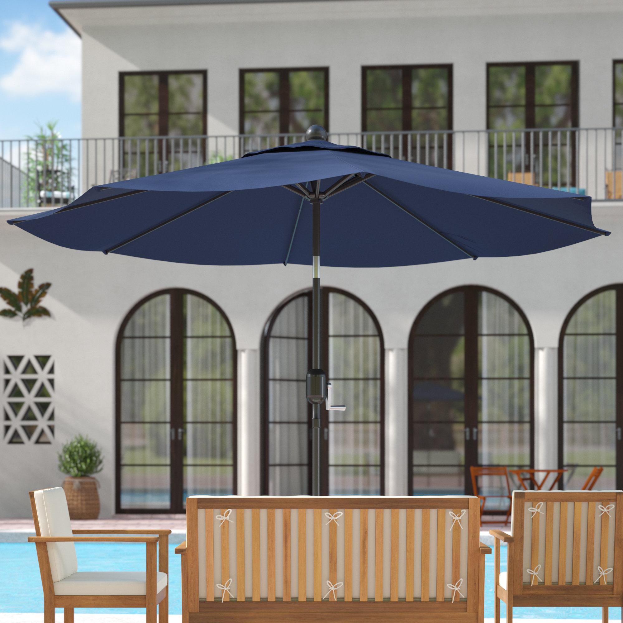 Most Current Wiechmann 9' Market Sunbrella Umbrella Pertaining To Wiechmann Market Sunbrella Umbrellas (View 2 of 20)