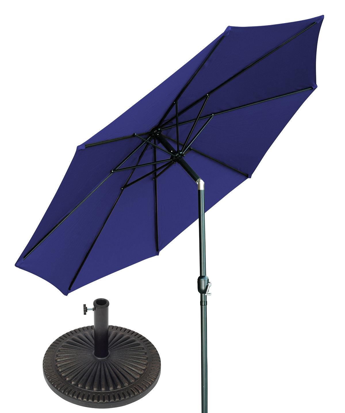 Most Popular 10' Market Umbrella Inside Breen Market Umbrellas (View 12 of 20)