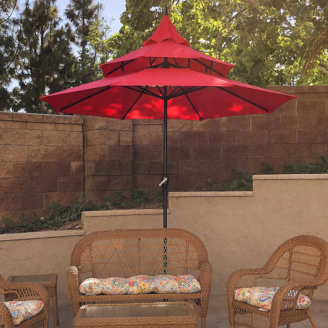 Most Popular Bricker Market Umbrellas Pertaining To Balcony Umbrella (Gallery 19 of 20)