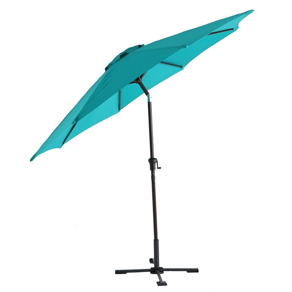 Most Popular Caleb Market Umbrellas Within Hampton Bay 9 Ft (View 11 of 20)