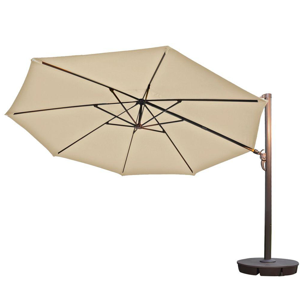Most Popular Cantilever Patio Umbrellas (View 18 of 20)