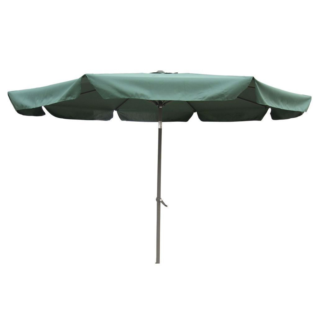 Most Popular Drape Umbrellas Pertaining To Forest Green 10 Foot Waterproof Drape Style Umbrella – Quality House (View 13 of 20)