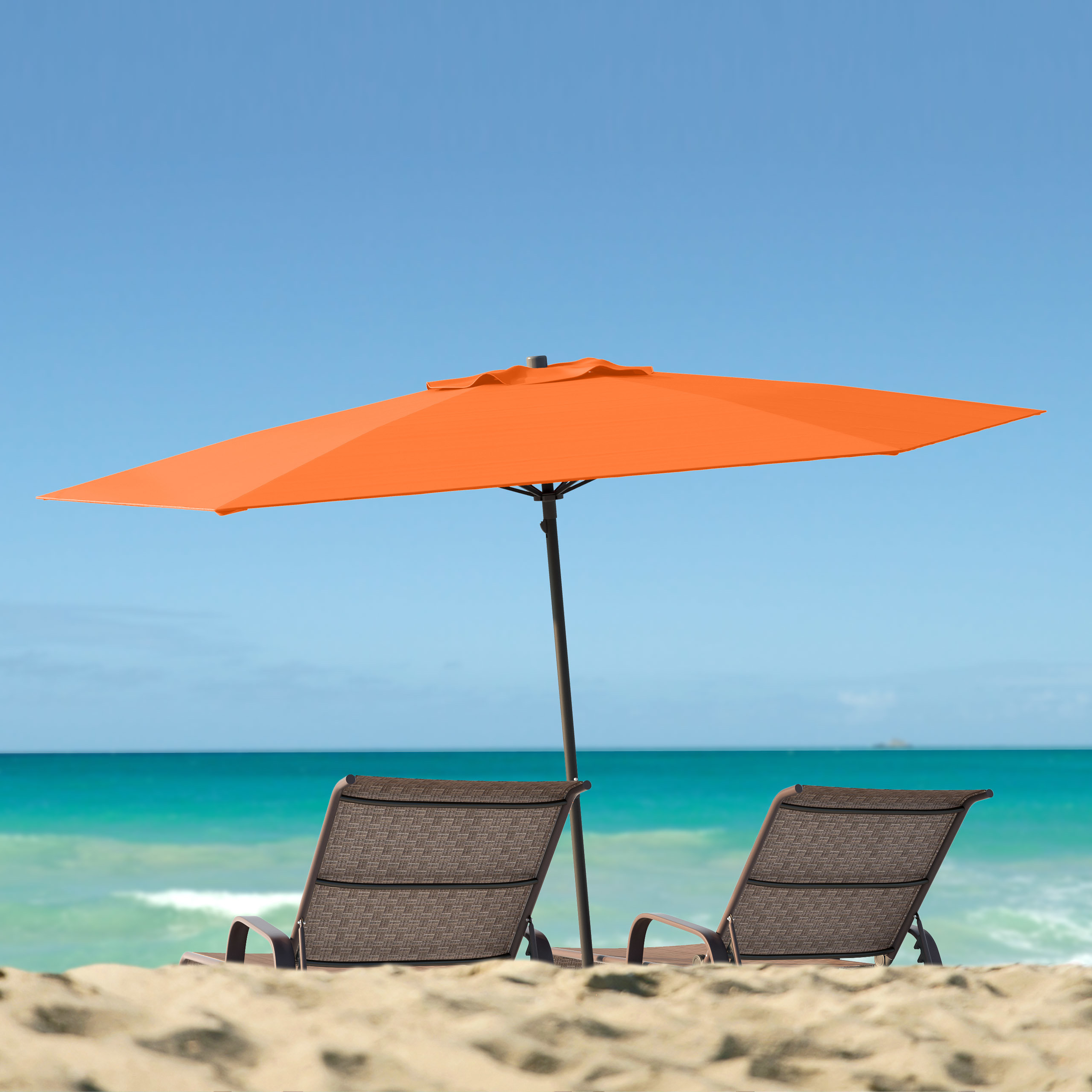 Most Popular Esai Beach Umbrellas For Beachcrest Home Smithmill (View 6 of 20)