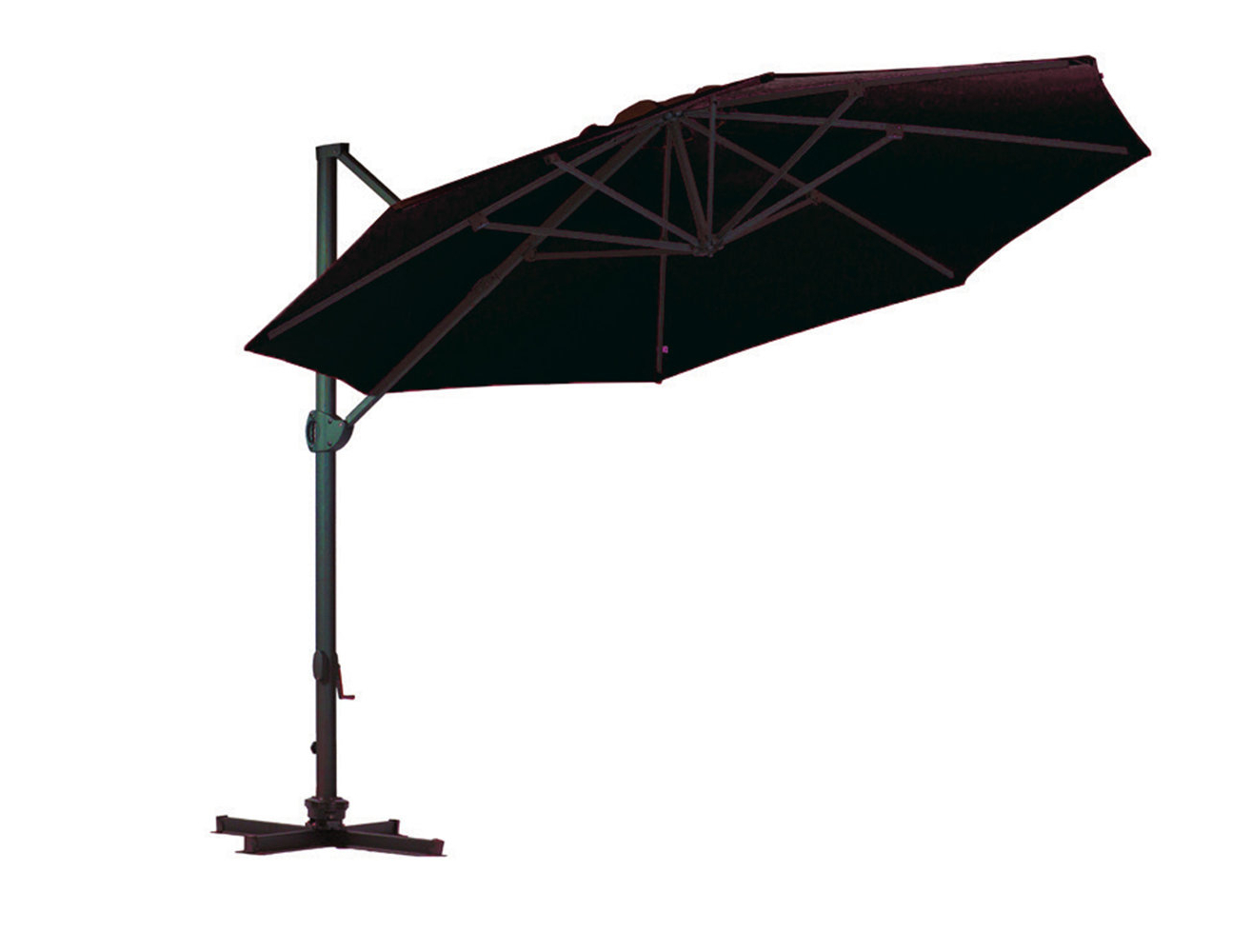 Most Popular Haverhill Umbrellas Intended For Bradninch 11' Cantilever Sunbrella Umbrella (View 9 of 20)