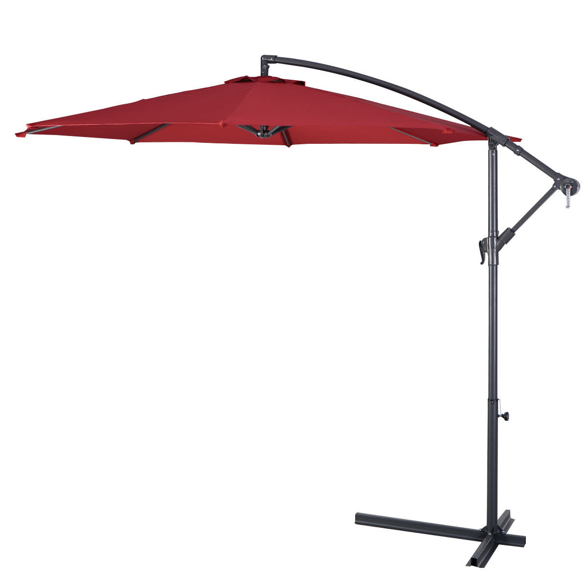 Most Popular Imogen Hanging Offset Cantilever Umbrellas Intended For Imogen Hanging Offset 10' Cantilever Umbrella (View 8 of 20)