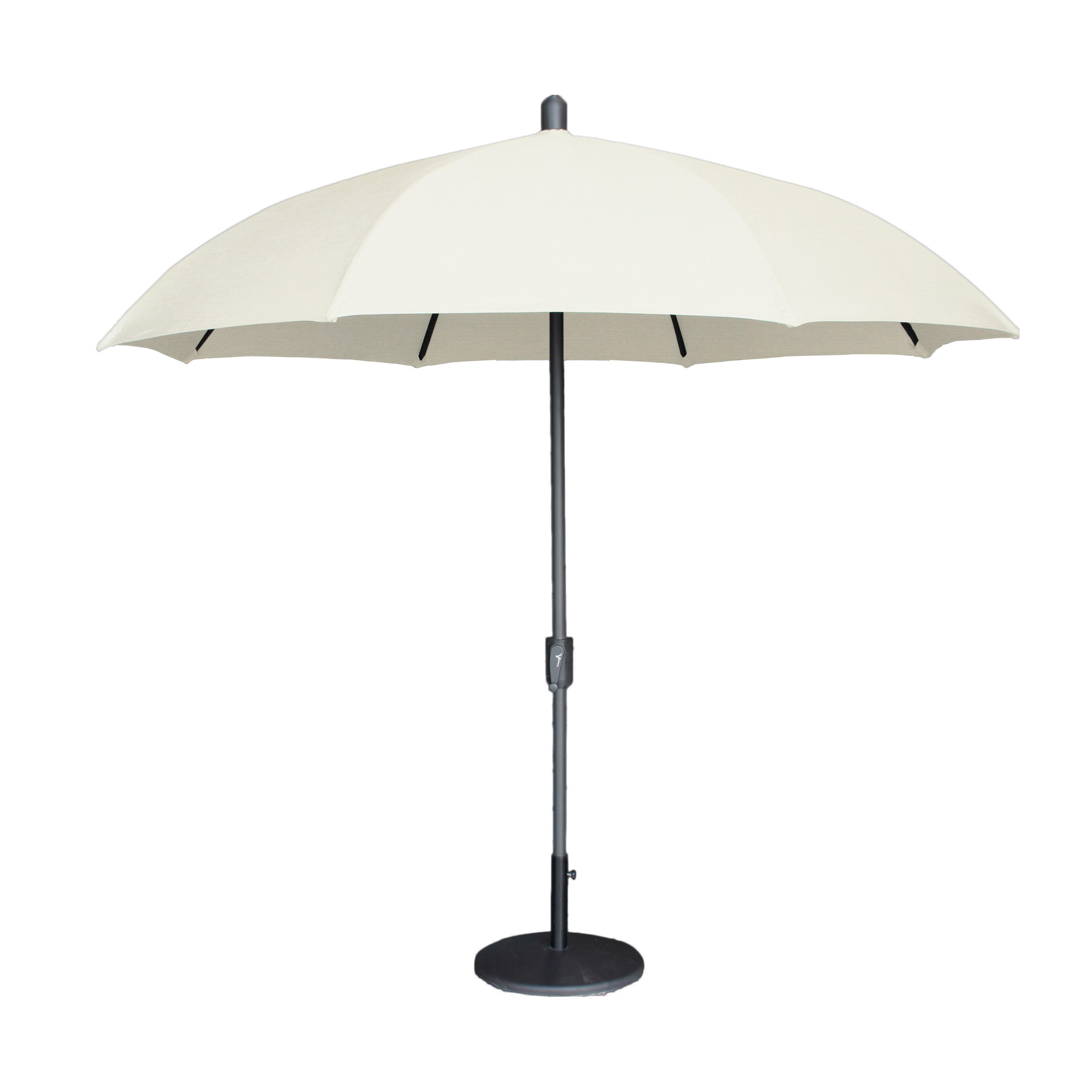 Most Popular Mariam Dome 8.5' Market Sunbrella Umbrella Pertaining To Wiechmann Push Tilt Market Sunbrella Umbrellas (Gallery 13 of 20)