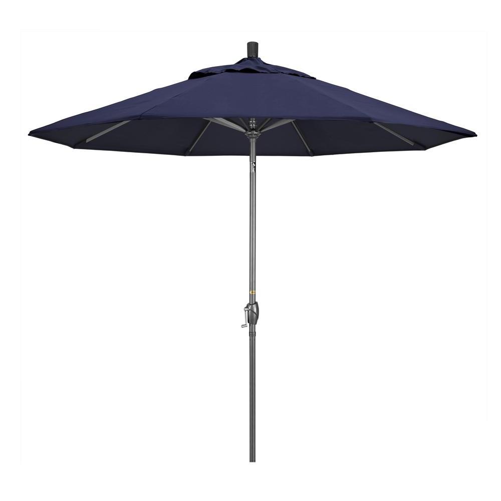 Most Popular Navy Sunbrella Umbrella – Budapestsightseeing For Ceylon Cantilever Sunbrella Umbrellas (Gallery 17 of 20)