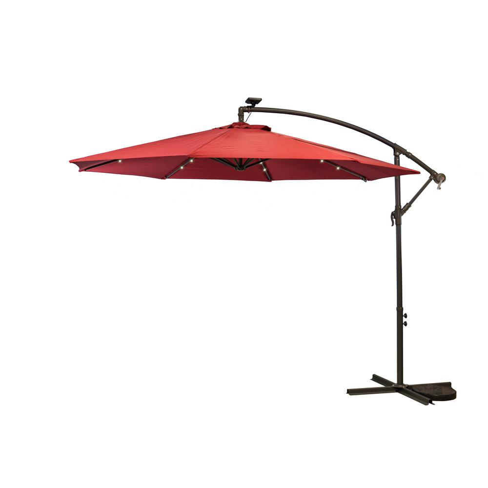 Most Popular Sun Ray Solar Cantilever Umbrellas With Regard To Sunray 10 Ft (View 2 of 20)