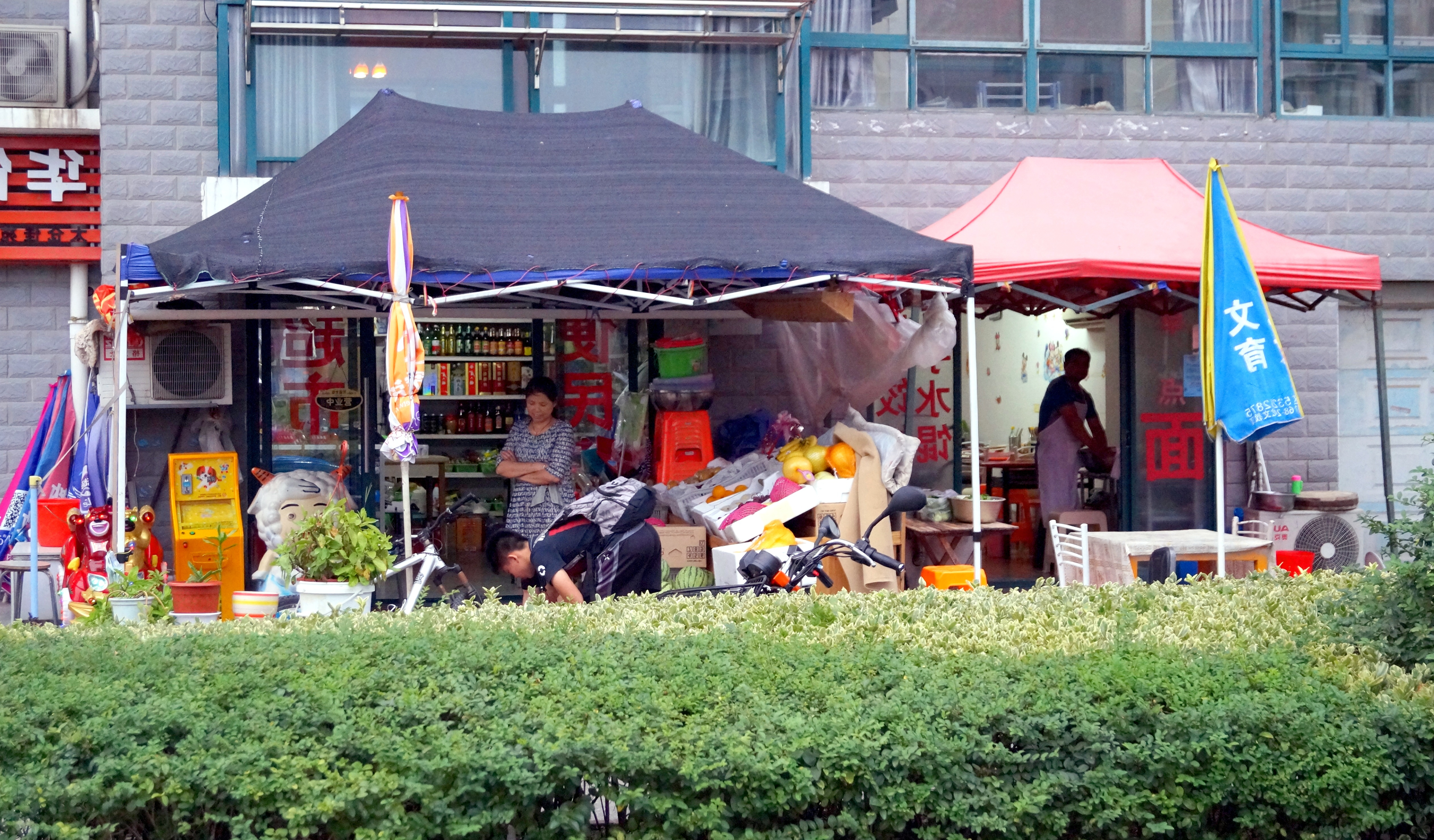 Most Popular Wier Market Umbrellas For Mein Erstes Wochenende In Taicang – Livinginchina (View 5 of 20)