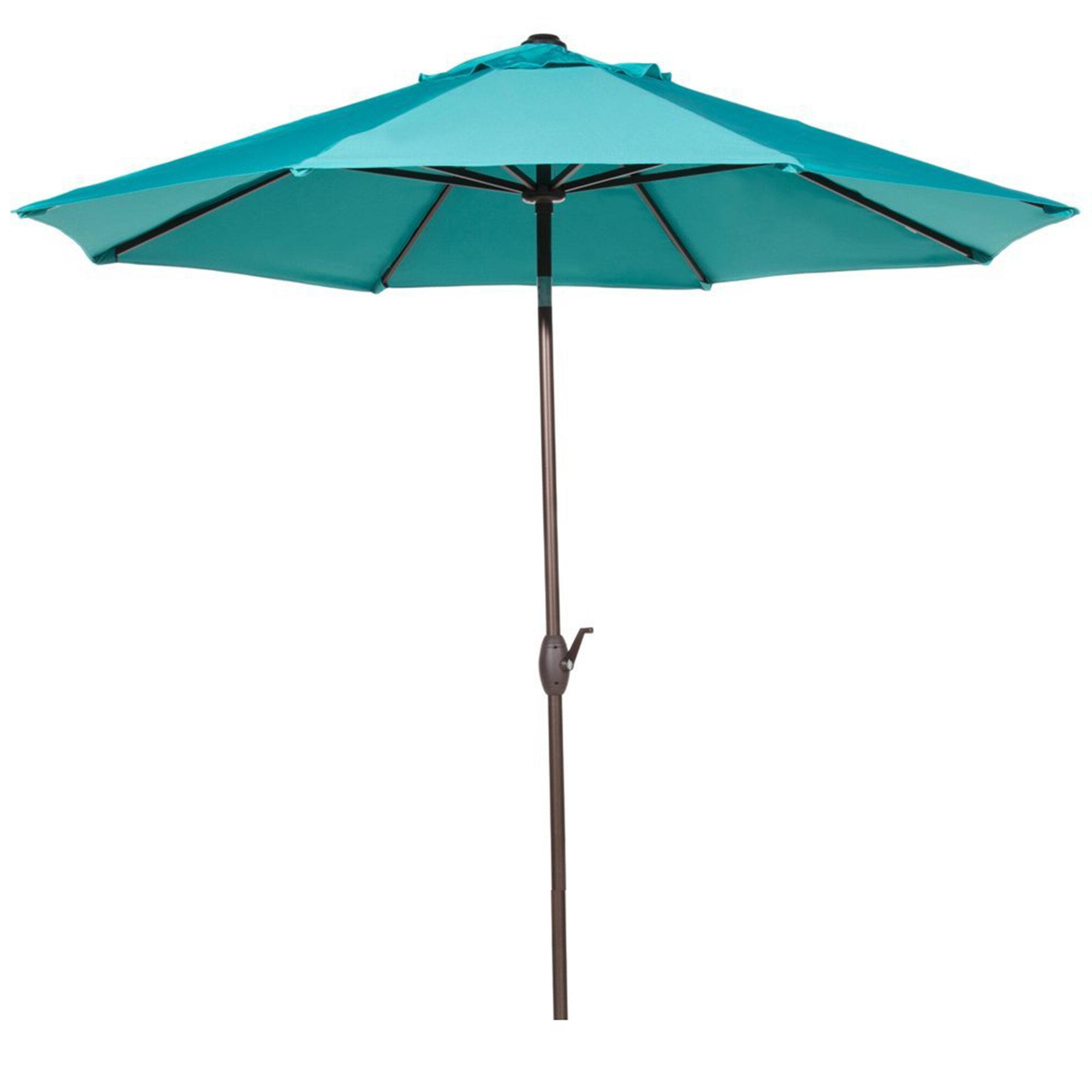 Most Popular Winchester Zipcode Design 9' Market Umbrella Intended For Hapeville Market Umbrellas (View 12 of 20)