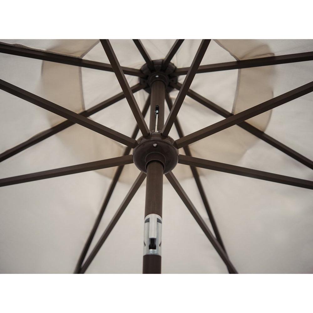 Most Recent Abba Patio 9 Foot Patio Umbrella Sunbrella Fabric Aluminum Market Umbrella  With Auto Tilt And Crank Inside Breen Market Umbrellas (Gallery 16 of 20)