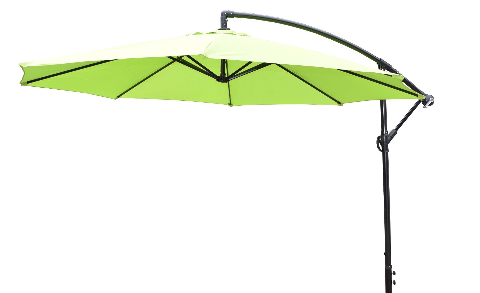 Most Recent Auda 10' Cantilever Umbrella With Olen Cantilever Umbrellas (Gallery 8 of 20)