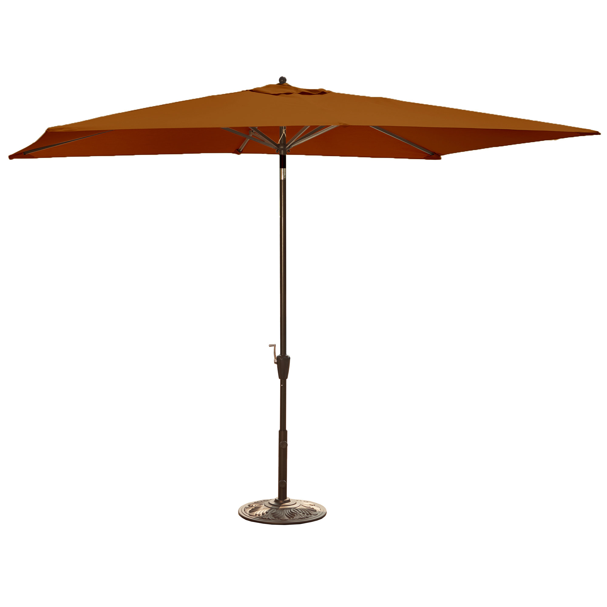 Most Recent Bonita Rectangular Market Umbrellas Throughout Bonview 10' X 6.5' Rectangular Market Umbrella (Gallery 5 of 20)