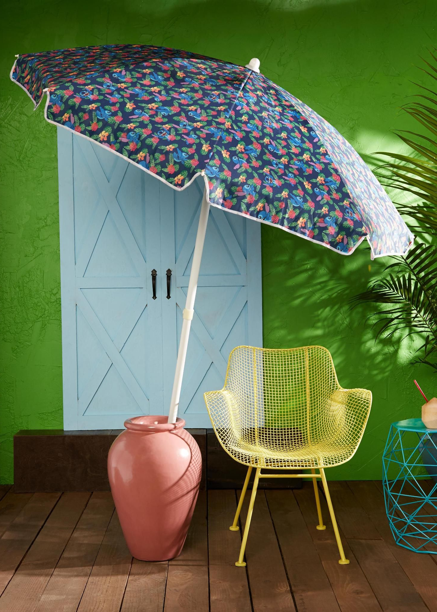 Most Recent Disney Lilo & Stitch Beach Umbrella – Boxlunch Exclusive In 2019 Intended For Smithmill Beach Umbrellas (View 6 of 20)