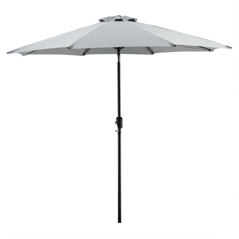 Most Recent Hapeville 9' Market Umbrella Throughout Cardine Market Umbrellas (View 16 of 20)