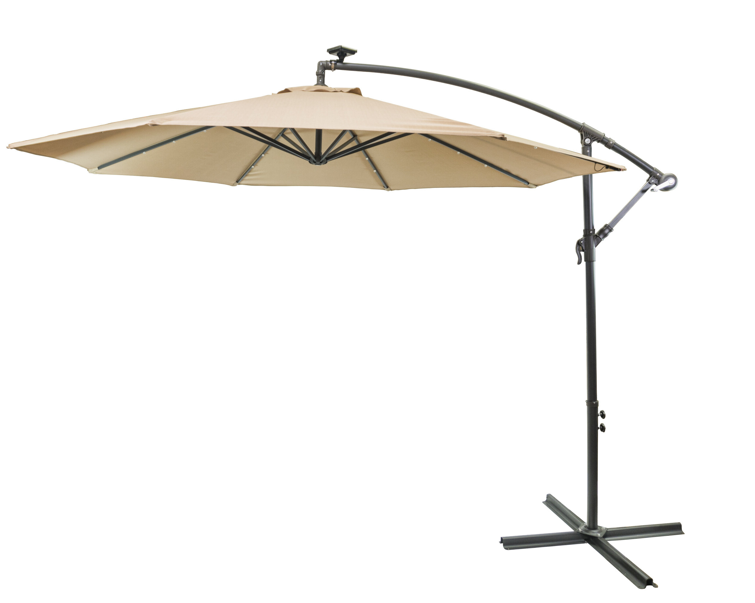 Featured Photo of Hilma Solar Cantilever Umbrellas