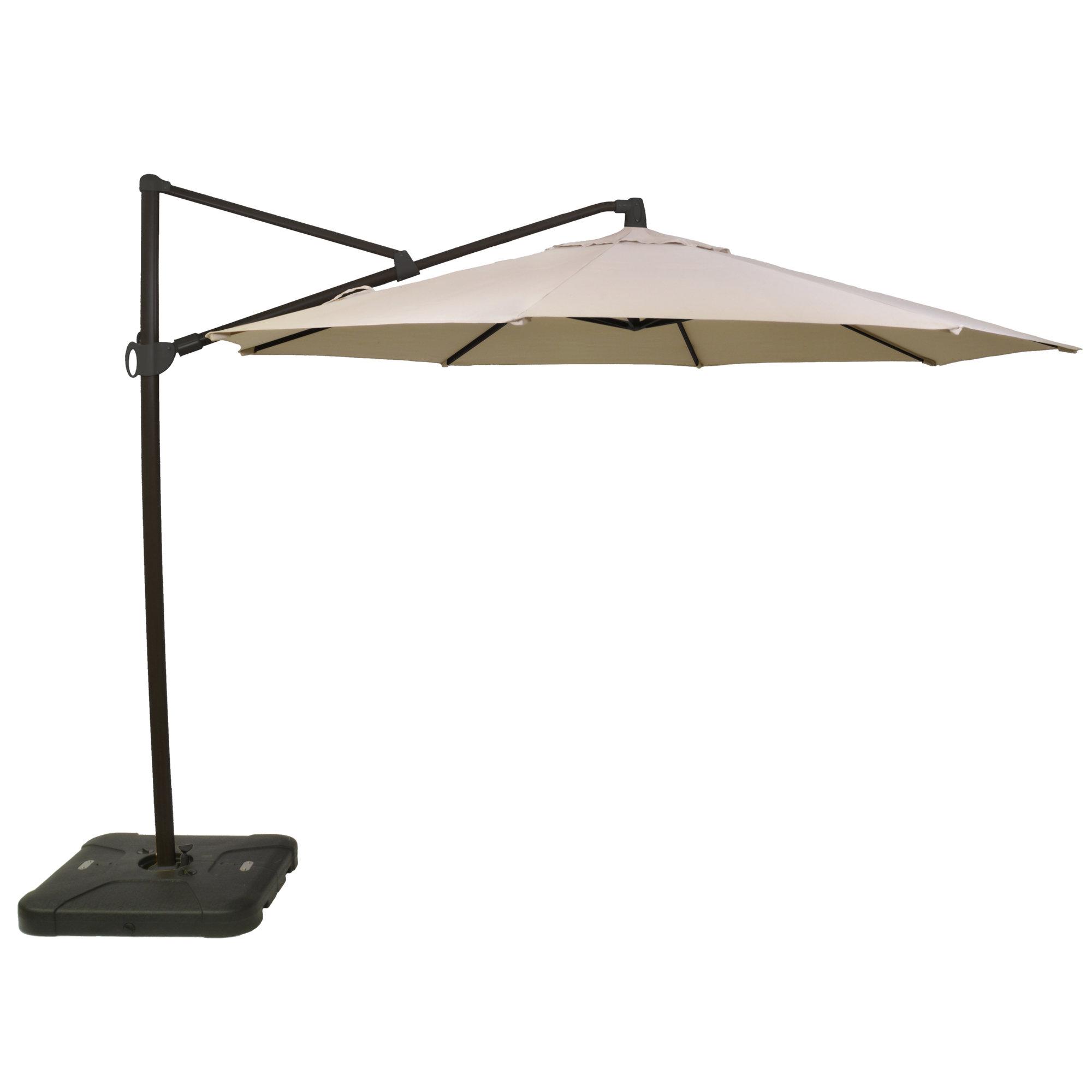 Most Recent Kedzie Outdoor Cantilever Umbrellas With Regard To Details About Alcott Hill Kedzie Outdoor 11' Cantilever Umbrella (View 2 of 20)