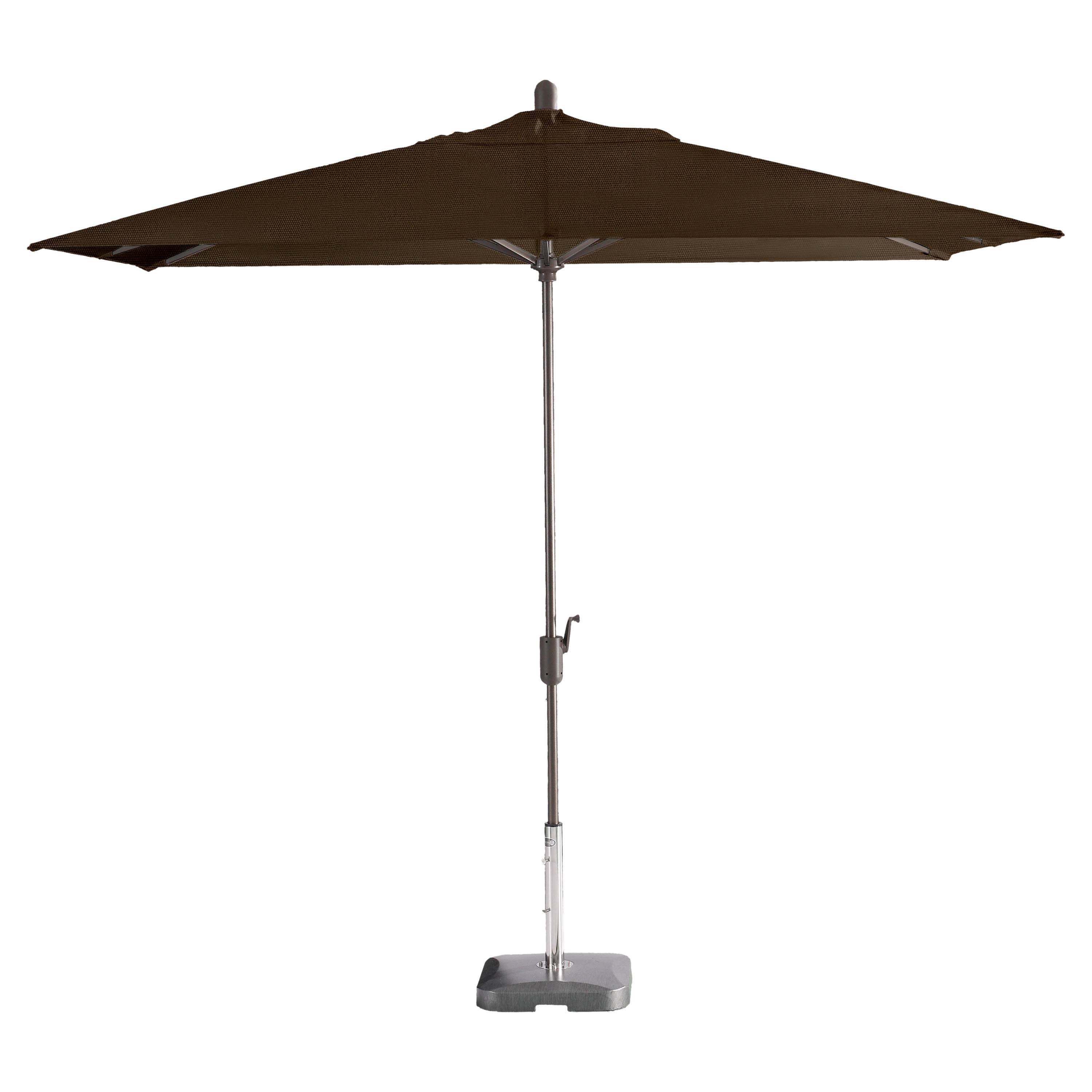 Most Recent Longshore Tides Alexander Elastic 10' X 6.5' Rectangular Market Throughout Wieczorek Auto Tilt Rectangular Market Sunbrella Umbrellas (Gallery 4 of 20)