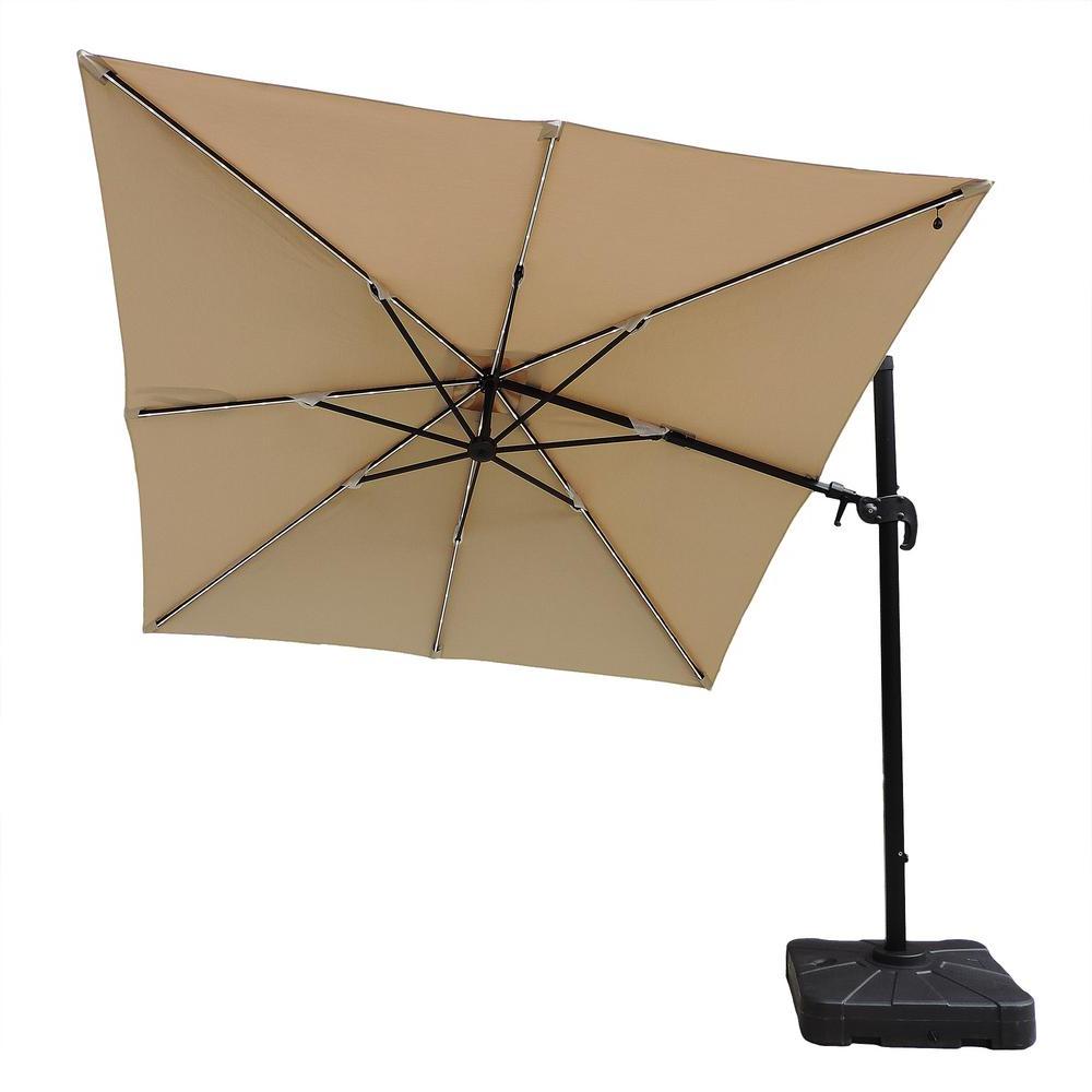 Most Recent Mullaney Market Sunbrella Umbrellas Inside Island Umbrella Santorini Ii Fiesta 10 Ft (View 10 of 20)